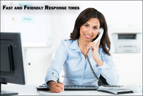 Fast, Friendly, Response Times for SR22 Insurance Houston, Texas